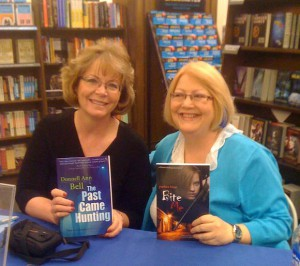 Booksigning with Donnell Ann Bell