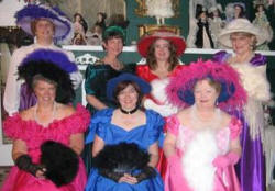 Victorian Tea Party with Paula Gill, Karen Fox, Deb Stover, Angel Smits, Maureen McKade, and Laura Hayden